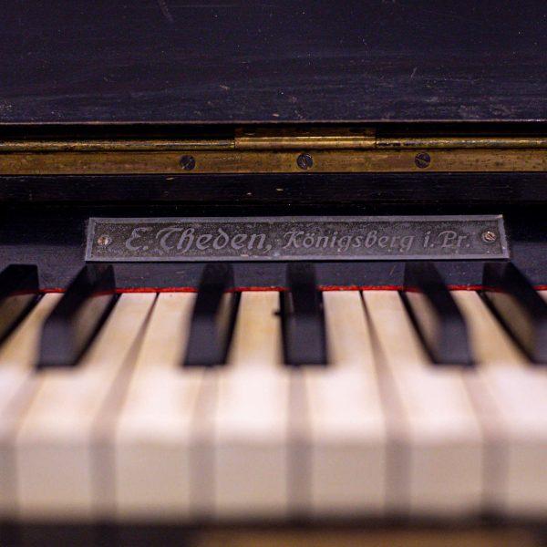 Pianino klavišai Ton Art