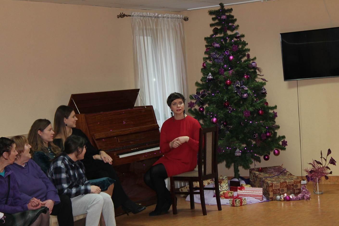 2020-01-06 Šviesos metų pradžiai - koncertas Prūdiškių socialinės globos namuose