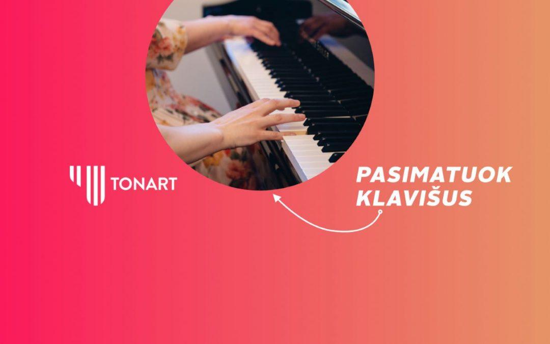 Pasimatuok klavišus - TonArt pianino pamokos suaugusiems